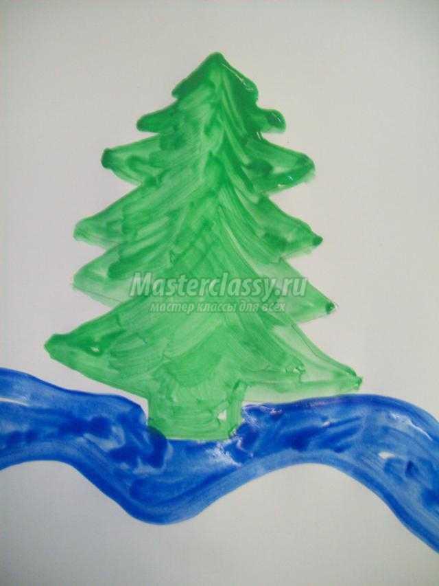 Мастер класс по рисованию гуашью зимы видео :: namunogmu