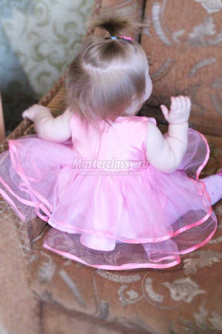 Нарядное платье своими руками просто