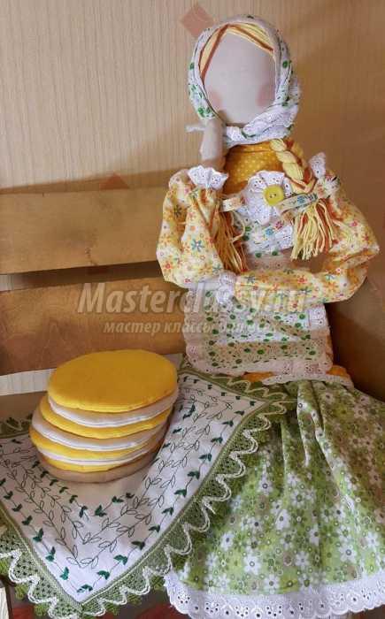 Кукла своими руками мастер класс масленица