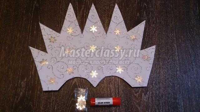Корона королевы из картона своими руками 39