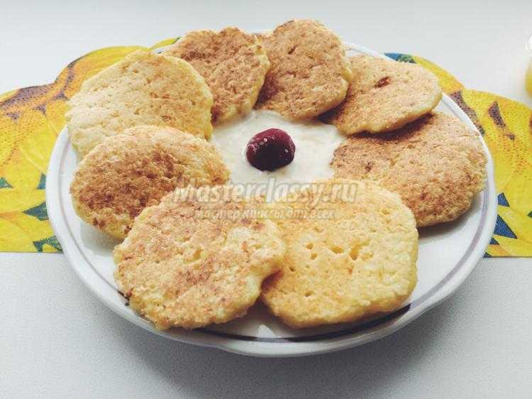 Сырники из творога сладкие с фото