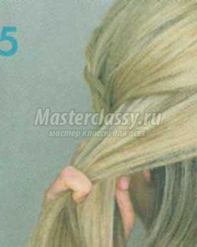 Голландская коса пошаговое