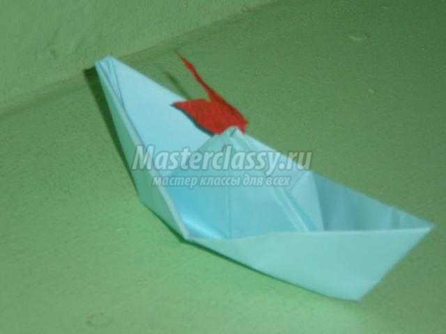 Оригами кораблик для мастеров