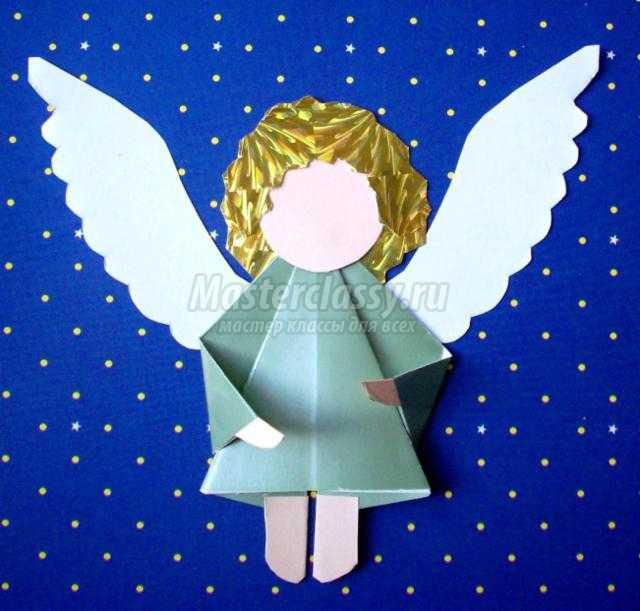 Открытка ангел своими руками