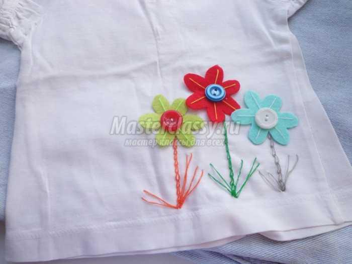 Декор детской футболки своими руками мастер класс 52