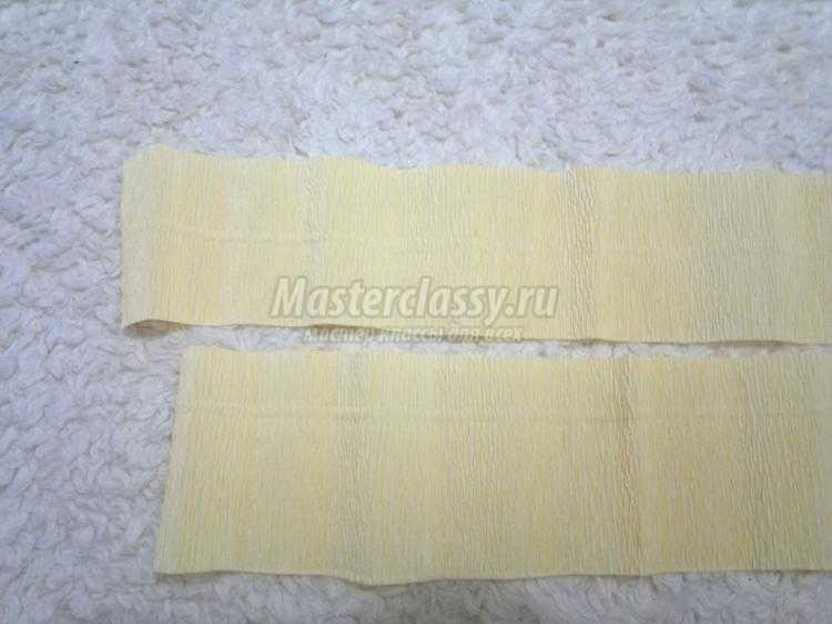 астра из гофрированной бумаги