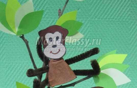 Как сделать маску обезьяну своими руками