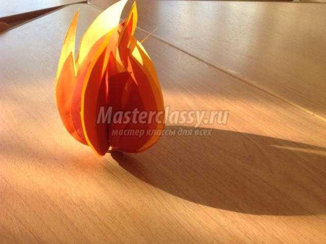 Как сделать огонь своими руками