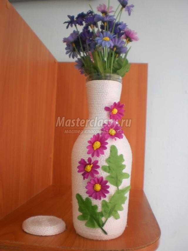 Подарок своими руками ваза