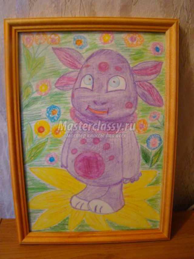 Мастер класс цветными карандашами подробно #10