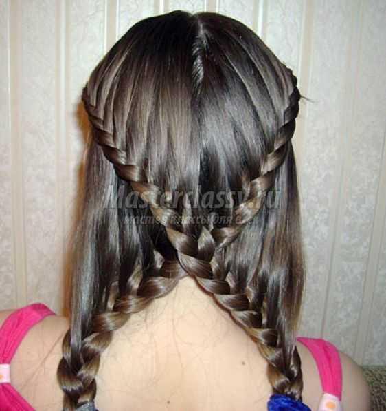 Легкое плетение волос