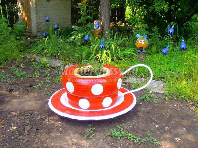 Поделки для сада своими руками из подручных материалов: фото и видео