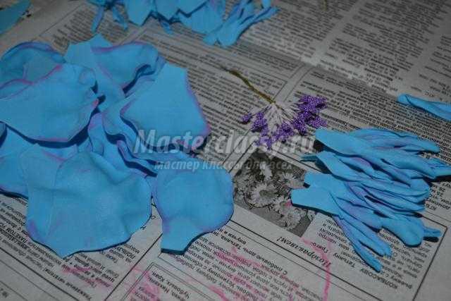 Резинки из фоамирана мастер класс с пошаговым фото для начинающих