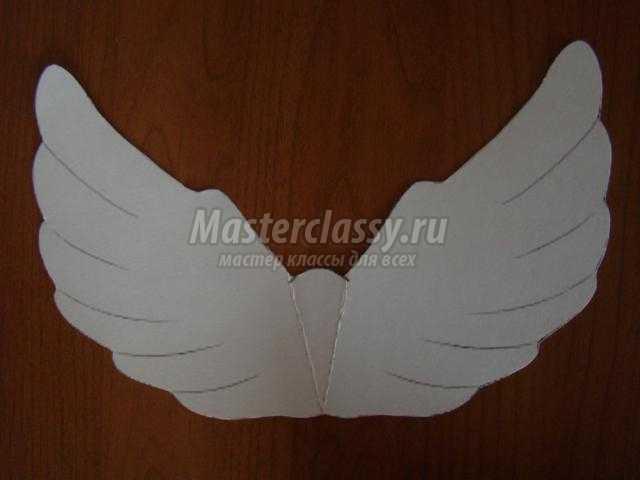 Крылья поделки из бумаги 100