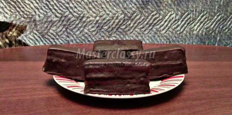Пирожные «Киндер Пингви». Рецепт с пошаговыми фото