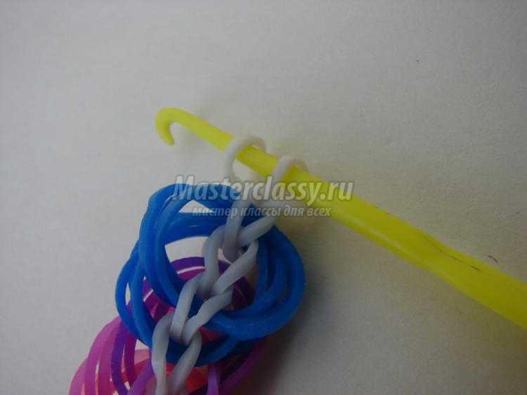 Как сделать браслеты из резинок без застежки