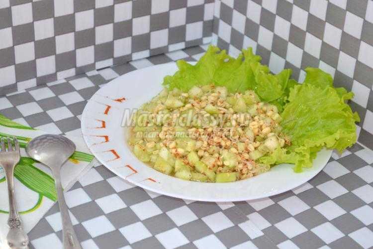 салат из пророщенного маша