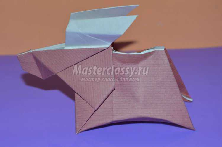 оригами животные. Лось