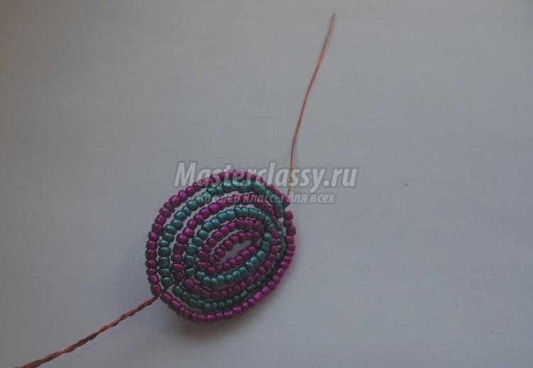 Плетение длинным бисером