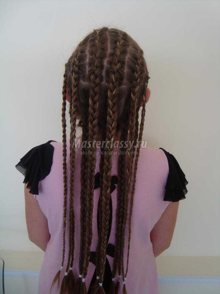 африканские косички для девочки
