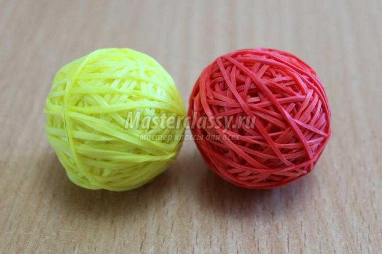 Как сделать мячика попрыгунчика из резинок