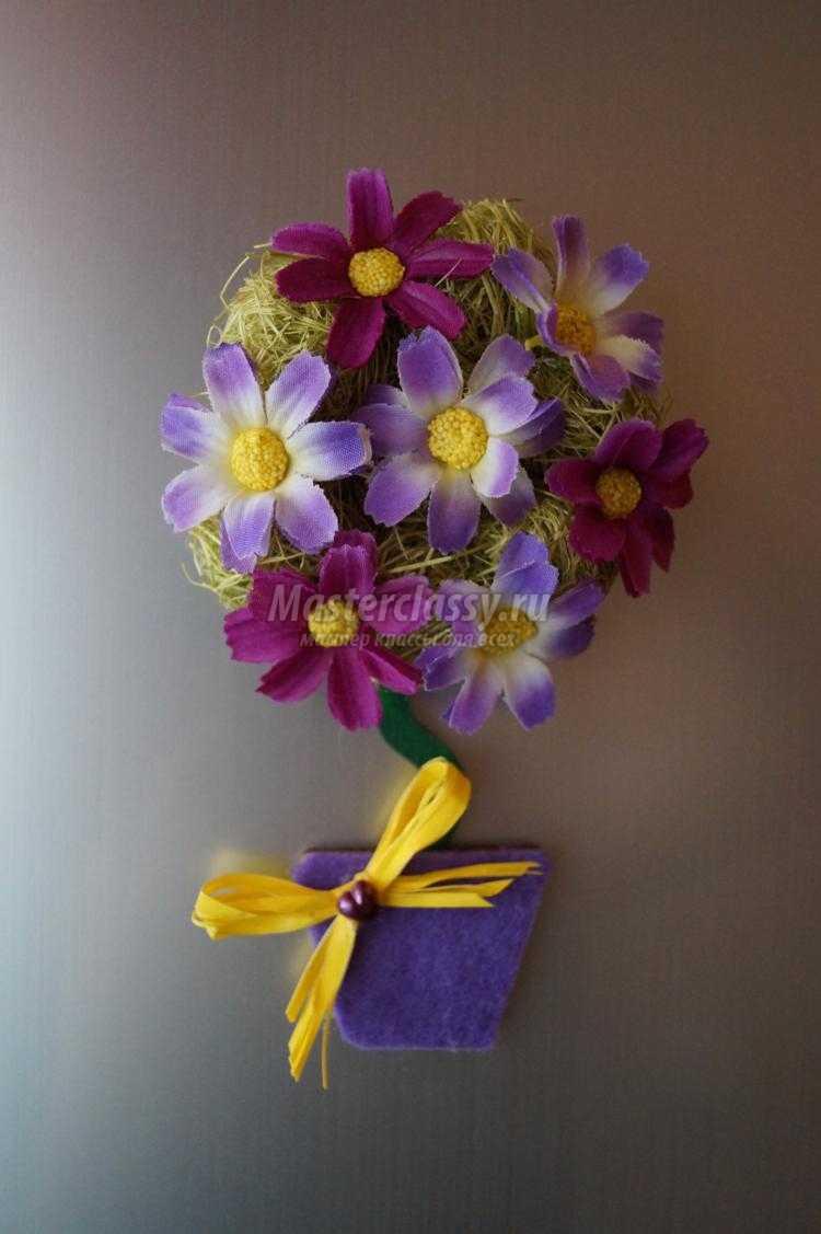 Цветочки своими руками мастер класс фото 374