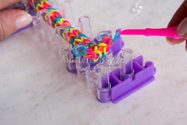 Техники плетения из резинок не на станке - Браслеты из резинок как плести - Максимум идей