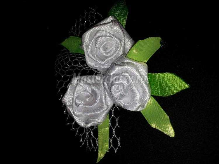 Розы из лет своими руками