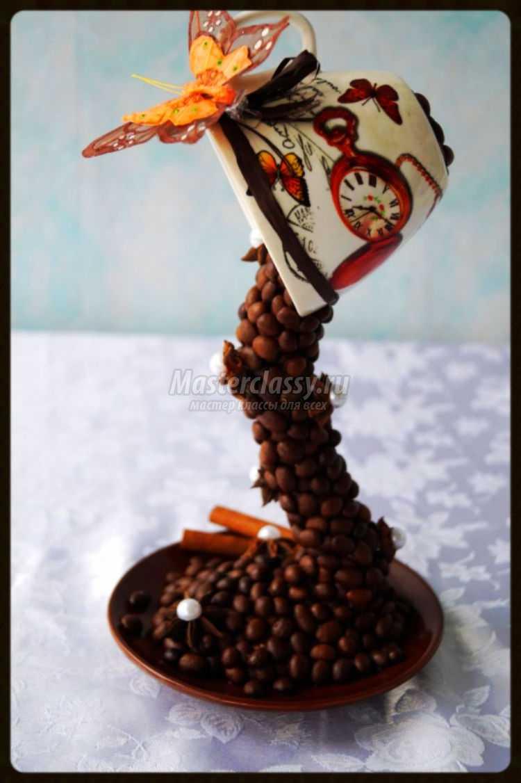 Кофейная чашка своими руками фото