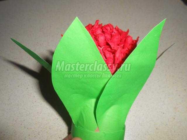 Как сделать гиацинт из салфеток своими руками