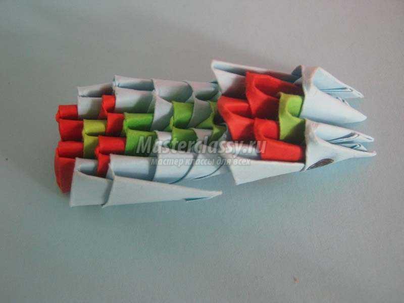 оригами павлины мастер класс