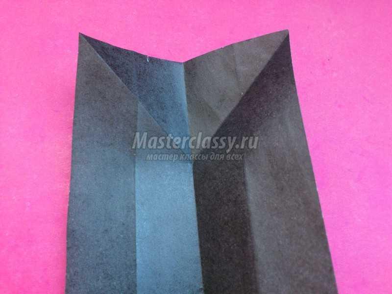 Гармошка оригами из бумаги