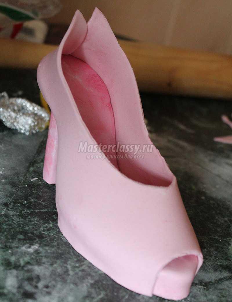 туфли из мастики мастер класс