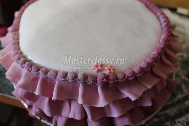 торт с туфелькой из мастики мастер класс