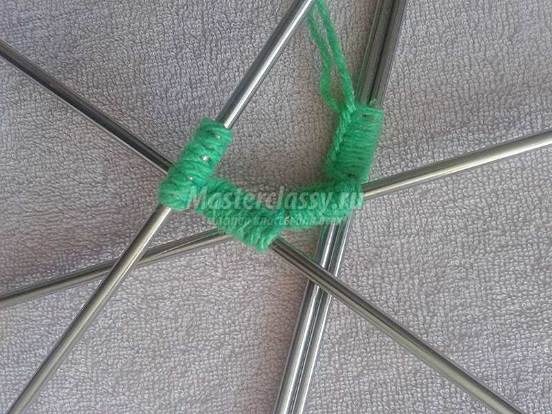 вязание носков поэтапно спицами
