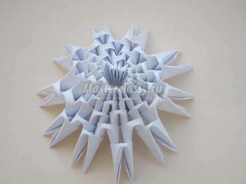 грибок модульное оригами