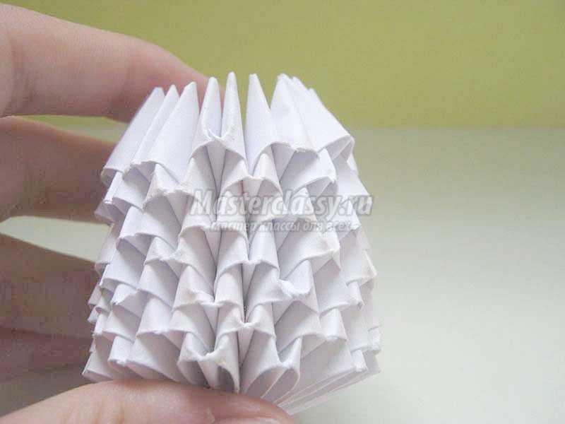 как сделать грибок из бумаги