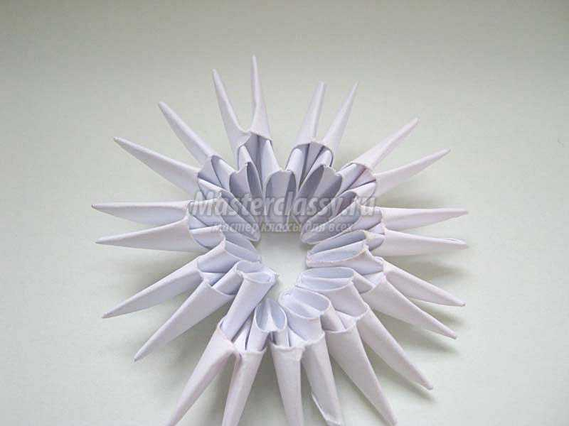грибок из бумаги
