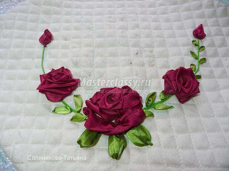 Как сделать цветок на веточке 4