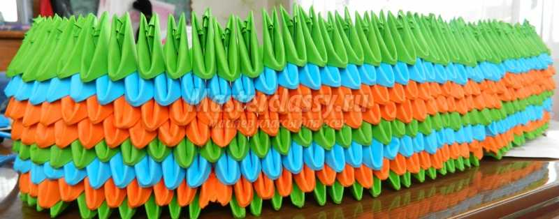 Модульное оригами: корабль