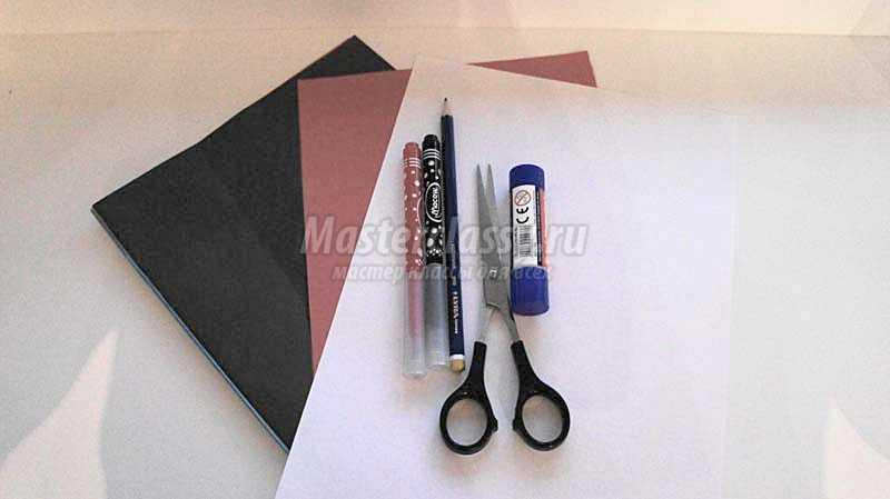 Поделки из цветной бумаги и шаблоны аппликации