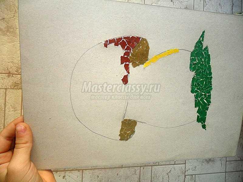 мозаика из бумаги
