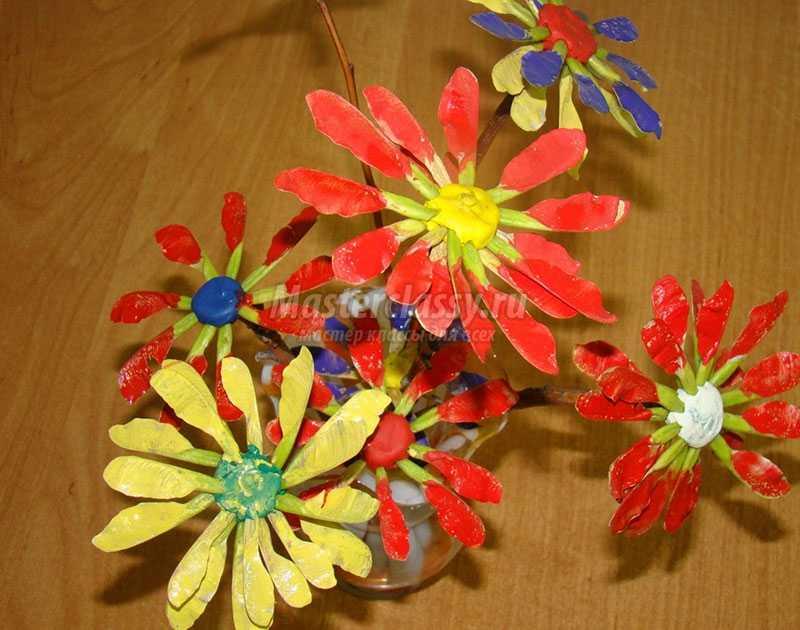 Поделки из цветов из материала 33