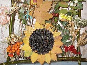 Осенний букет из материала осень - Красивая, уютная осень. Осенний букет из природного материала