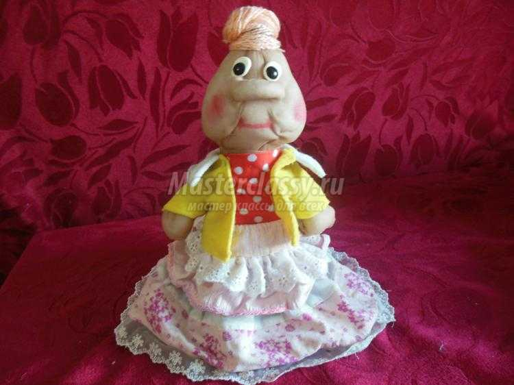 Кукла из капрона своими руками фото 545