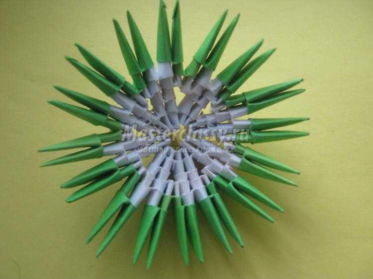 Яйцо модульное оригами мастер класс сделай сам #2