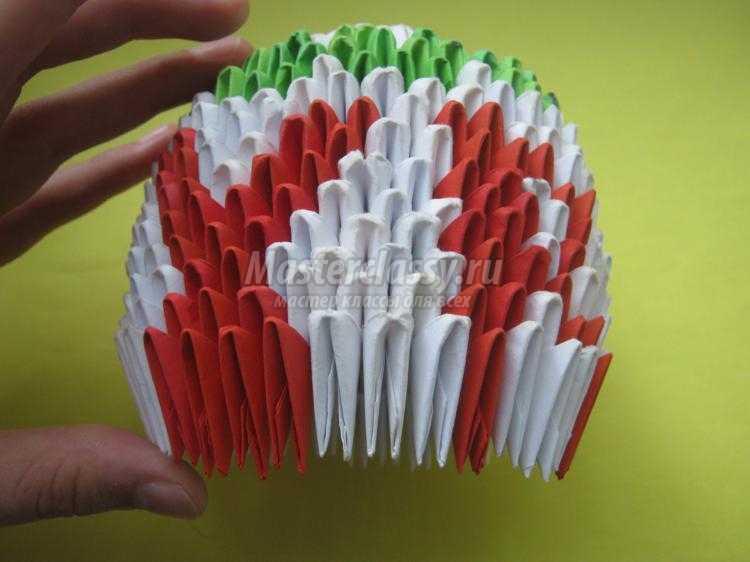 Яйцо модульное оригами мастер класс сделай сам #8
