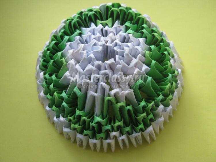 Яйцо оригами мастер класс пошаговый #4
