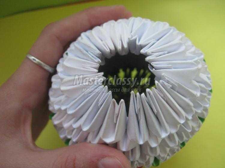 Яйцо оригами мастер класс пошаговый #10