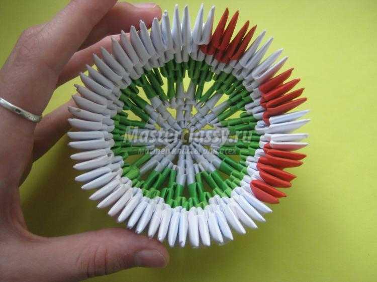 Яйцо оригами мастер класс пошаговый #3